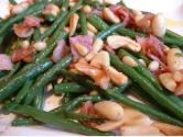 Green Beans With Roasted Nuts