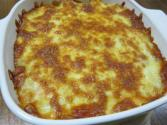 Lentil Cheese Bake