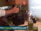 Green Smoothie With Basil