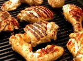 Lemon Yogurt Grilled Chicken