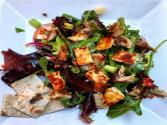 Grilled Halloumi & Herring Summer Salad