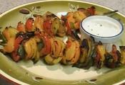 Crispy Grilled Peppers