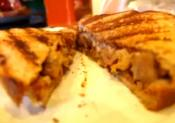 Sumptuous Grilled Pulled Pork And Cheese Bbq Sandwich