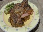Grilled Rib Eye Steaks & Okra