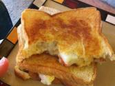 Grilled Crab And Cheddar Sandwich