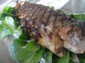 Grilled Rainbow Trout With Parsley And Lemon Butter