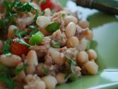 Grilled Tuna And Cannellini Bean Salad