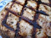 Mustard Broiled Swordfish With Fresh Dill