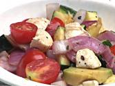 Food: Grilled Veggie Summer Salad - The Sarah Fit Show