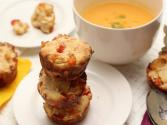 How To Make Savory Muffin - Cheese And Tomato
