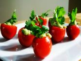 Guacamole Stuffed Cherry Tomatoes