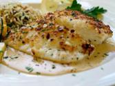 Pan Seared Halibut Cheeks
