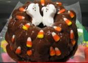 Festive Halloween Bunt Cake