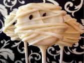 Halloween Oreo (mummy) Pops