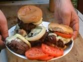 Hamburger For The Barbeque Grill By The Bbq Pit Boys