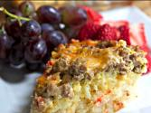 Sausage Hash Brown Casserole - Brunch