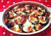 Health And Fiber Rich Aubergine Bake