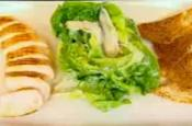 Healthy Chicken Caesar Salad