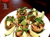 Healthy : Salmon Poke In Wonton Cups (appetizers) : Healthy Food : Asian At Home