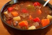 Hearty Beef Vegetable Pasta Soup