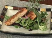 Salmon With Mixed Greens