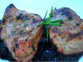 Grilling: Herb Marinated Pork Tenderloin With Blueberry Compote