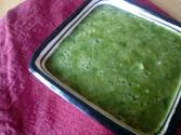 Home Made Salsa With Tomatillo