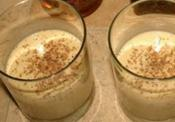 Homemade Bourbon Eggnog