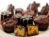 Homemade Chocolate Candies With Pumpkin Ganache - Halloween Special!