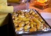 Homemade Fingerling Potatoes