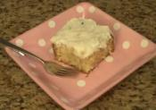 Homemade Italian Cream Cake