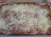 Homemade Lasagna With Ricotta And Parmesan