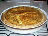 Easy Quiche Lorraine With Cheese