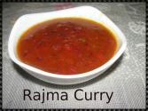 Homemade Rajma Curry