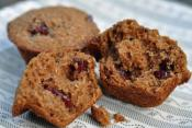 Honey Date Oat Bran Muffin
