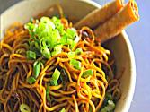 Honey Garlic Scallion Noodles