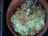 Hot Cabbage Salad