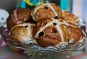 Spiced Fruit Hot Cross Buns