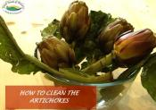 How To Clean The Artichokes