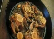 Lemon And Thyme Baked Cornish Hens 