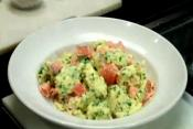 Scrambled Eggs With Fresh Herbs And Smoked Salmon