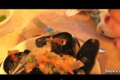 Cooking With Lobster, Fish And Mussels
