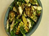 How To Make A Courgette, Aubergine And Mozzarella Salad