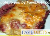 Low Carb Rueben Sandwich Casserole