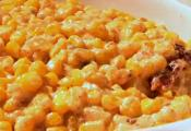 Cheesy Corn With Smoky Bacon