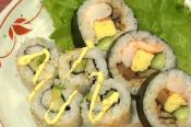 Oriental Futomaki Sushi &amp; California Roll