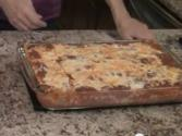 How To Make Lasagna With Beef, Wine, Caramelized Onions, Mushrooms And Fresh Herbs
