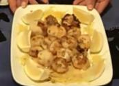 Lemon Breaded Sea Scallops