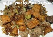 Low Carb Sausage Stuffing