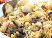 Baked Cod With Oyster Stuffing